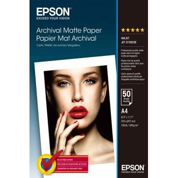 Epson Archival Matte Paper - A4 - 50 hojas