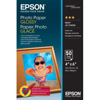 Epson Photo Paper Glossy - 10x15cm - 50 Hojas