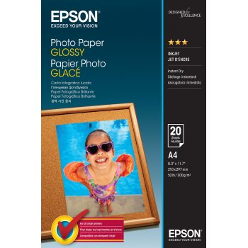 Epson Photo Paper Glossy - A4 - 20 Hojas