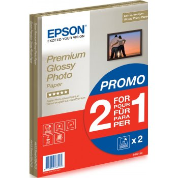 Epson Premium Glossy Photo Paper - A4 - 2x 15 Hojas