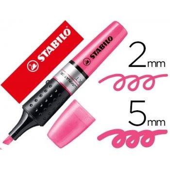 STABILO Luminator marcador 1 pieza(s) Rosa Punta de cincel