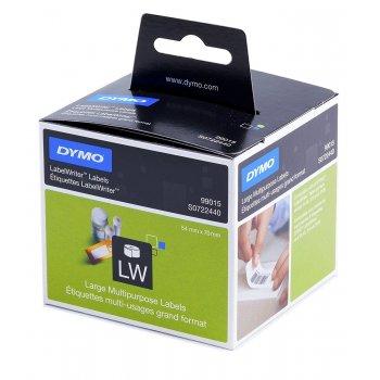 DYMO Large Multipurpose Labels etiqueta autoadhesiva Negro, Blanco 320 pieza(s)
