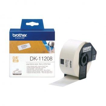 Brother Etiquetas precortadas de dirección grandes (papel térmico)
