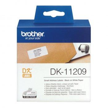 Brother Etiquetas precortadas de dirección pequeñas (papel térmico)