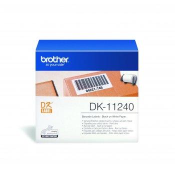 Brother DK-11240 etiqueta de impresora Blanco