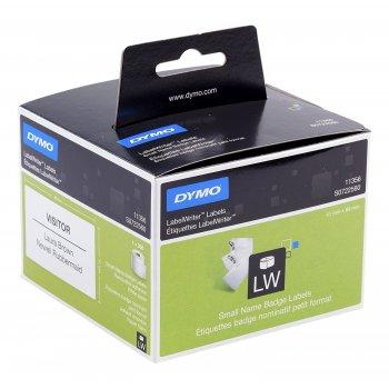 DYMO Etiquetas para tarjetas de identificación de tamaño pequeño