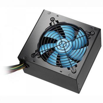 CoolBox Powerline Black 600 unidad de fuente de alimentación 600 W ATX Negro