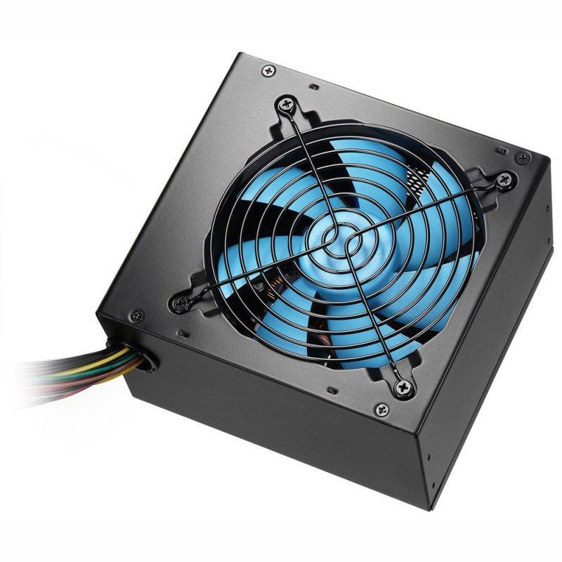 CoolBox Powerline Black 700 unidad de fuente de alimentación 700 W ATX Negro