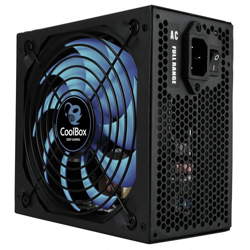 CoolBox DeepPower BR-800 unidad de fuente de alimentación 800 W ATX Negro