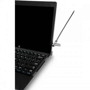 Kensington N17 Keyed Laptop Lock cable antirrobo Negro, Plata