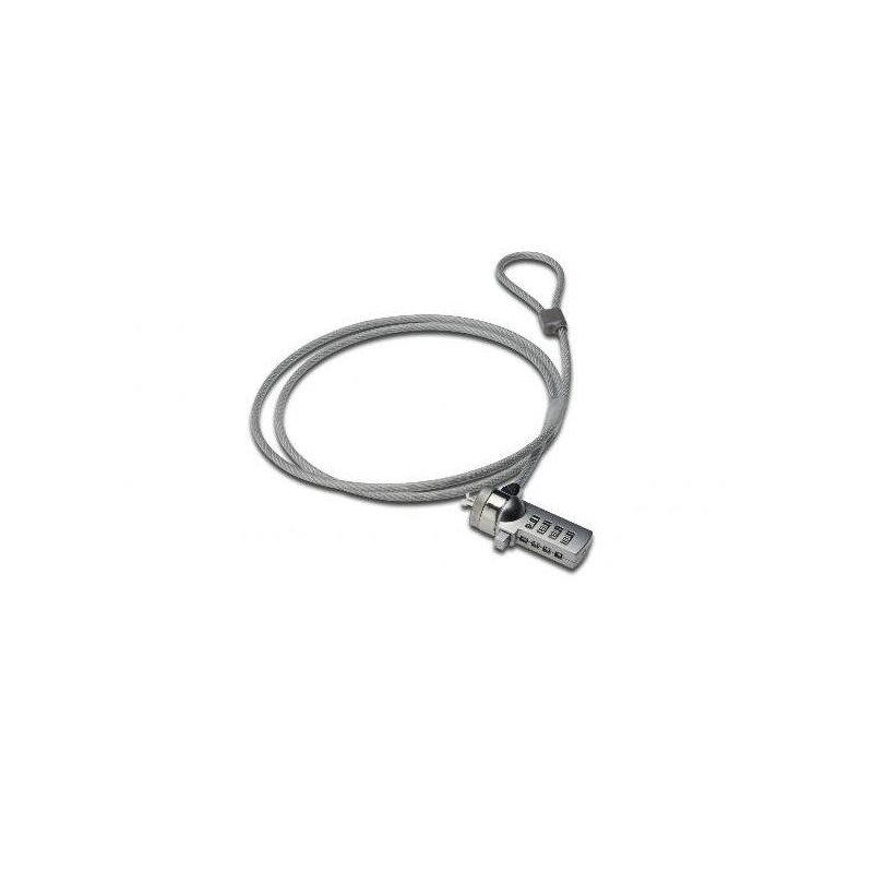 ITB MGDA40500 cable antirrobo Gris 1,5 m