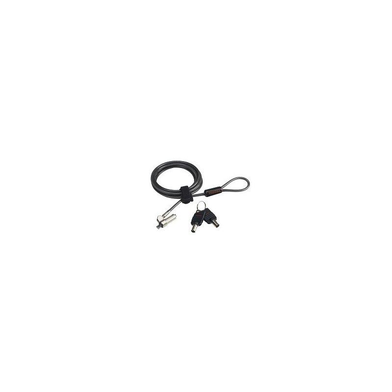 Toshiba Ultra Slim Lock cable antirrobo Negro, Gris 2 m
