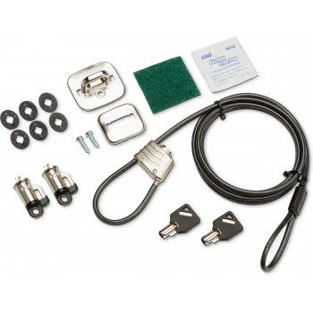 HP 3XJ17AA cable antirrobo Negro