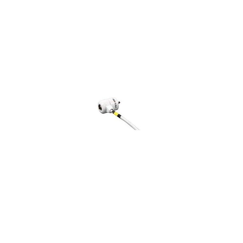 Mobilis 001236 cable antirrobo Blanco 1,8 m