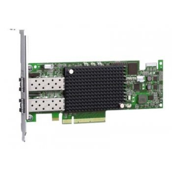 IBM Emulex 16Gb FC 2-port HBA Fibra 16000 Mbit s Interno