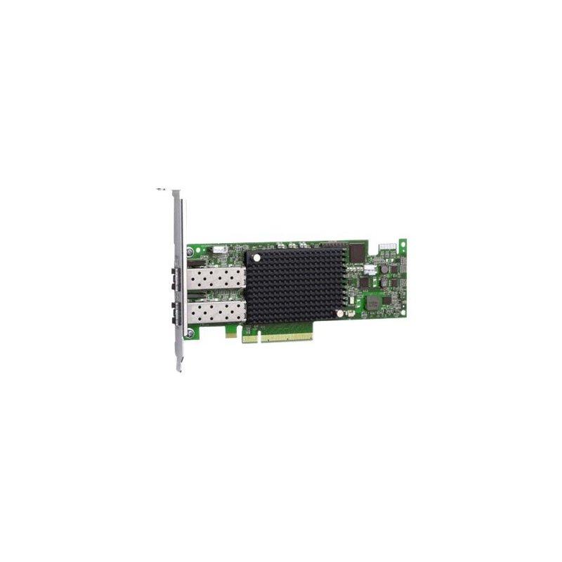 IBM Emulex 16Gb FC 2-port HBA Fibra 16000 Mbit s Interno