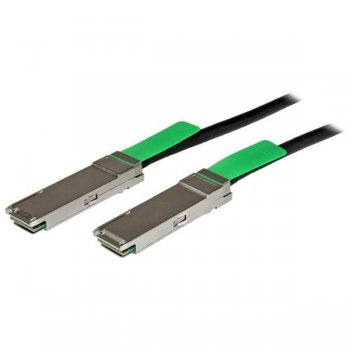 StarTech.com Cable de 2m QSFP+ Direct-Attach Twinax MSA - 40 GbE