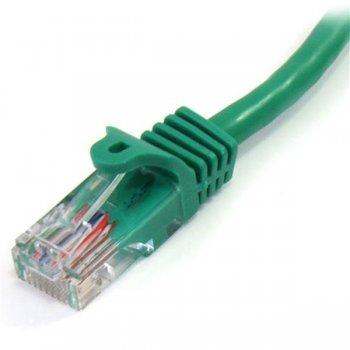 StarTech.com Cable de 3m Verde de Red Fast Ethernet Cat5e RJ45 sin Enganche - Cable Patch Snagless