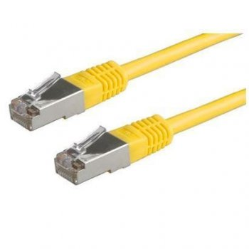 Nilox 0.5m UTP Cat5e cable de red 0,5 m U UTP (UTP) Amarillo