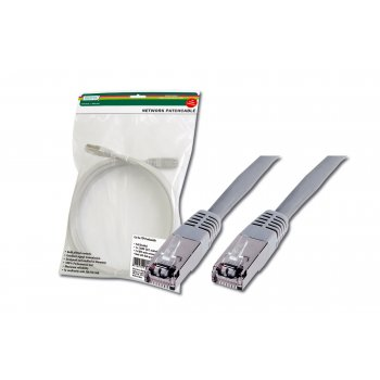 Digitus DK-1521-050 cable de red 5 m Cat5e F UTP (FTP) Gris