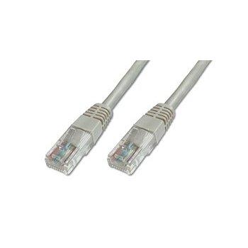 Digitus Patch Cable, UTP, CAT5E 2.0m cable de red 2 m Gris