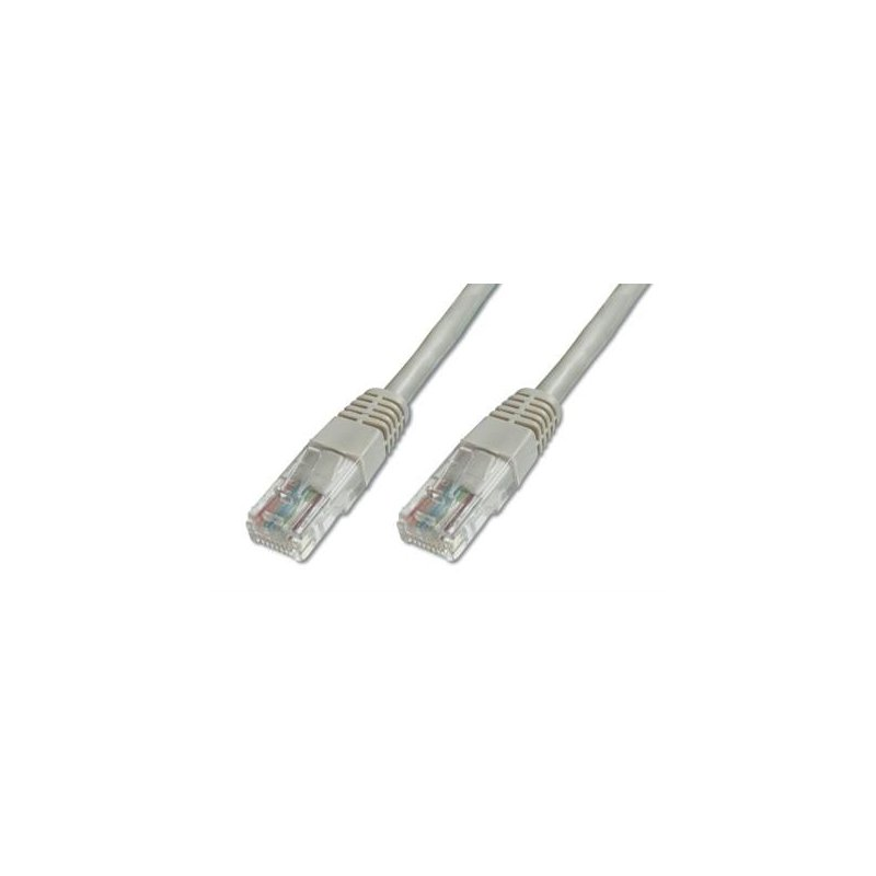 Digitus Premium CAT 5e U-UTP cable de red 5 m Cat5e U UTP (UTP) Gris