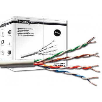 Digitus DK-1511-V-305-1 cable de red 305 m Cat5e U UTP (UTP) Gris