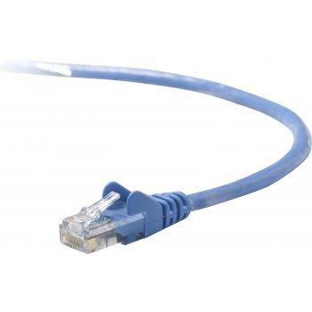 Belkin 10m Cat5e STP cable de red U FTP (STP) Azul