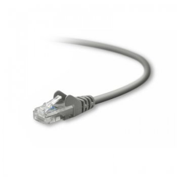 Belkin UTP CAT5e 3m cable de red U UTP (UTP) Gris