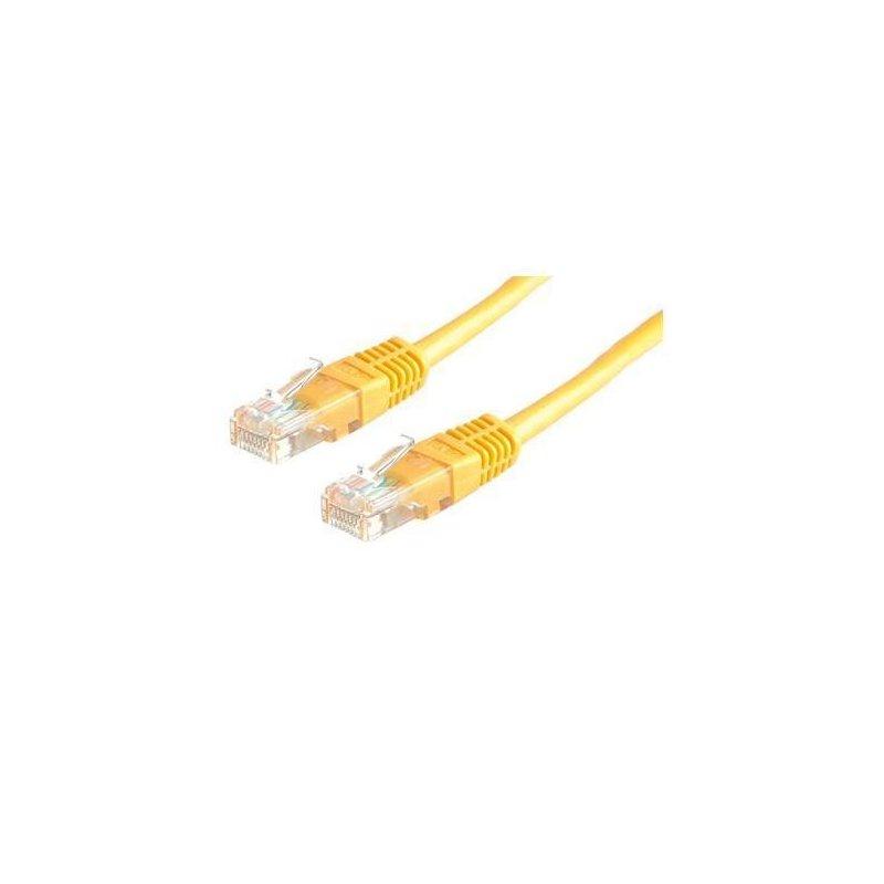Nilox 3.0m Cat5e UTP cable de red 3 m U UTP (UTP) Amarillo