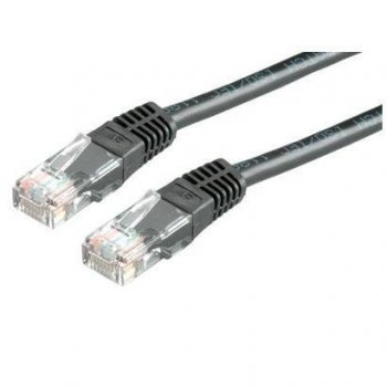 Nilox 3.0m Cat5e UTP cable de red 3 m U UTP (UTP) Negro