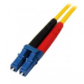 StarTech.com Cable de Red de 1m Monomodo Dúplex Fibra Óptica LC-LC 9 125