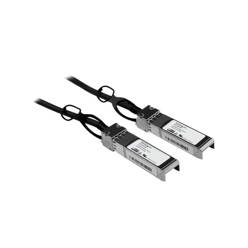 StarTech.com Cable de 2m SFP+ Direct-Attach Twinax Pasivo Ethernet de 10 Gigabits Compatible con Cisco SFP-H10GB-CU2M - 10 GbE