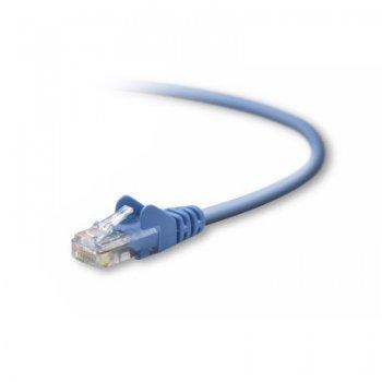 Belkin UTP CAT5e 2 m cable de red U UTP (UTP) Azul