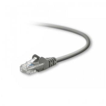 Belkin UTP CAT5e 5 m cable de red U UTP (UTP) Gris