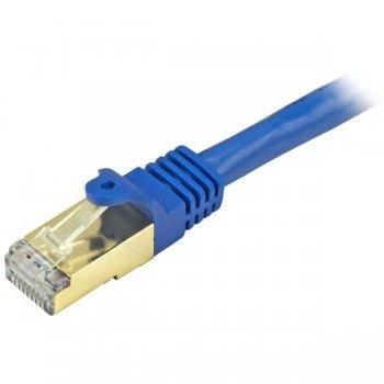 StarTech.com C6ASPAT10BL cable de red 3 m Cat6a U FTP (STP) Azul