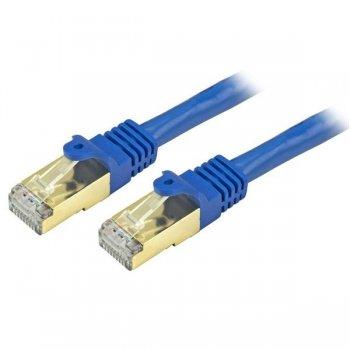 StarTech.com C6ASPAT1BL cable de red 0,3 m Cat6a U FTP (STP) Azul