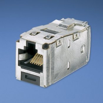 Panduit Mini-Com® TX6™ 10Gig™ Shielded Jack Module - TG Style Gris
