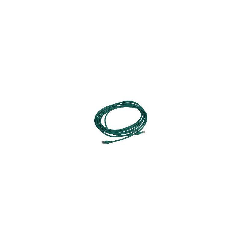 APC DC6PCURJ05GNM cable de red 5 m Cat6 U UTP (UTP) Verde