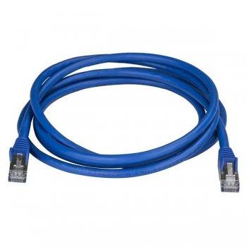 StarTech.com Cable de 2m de Red Ethernet RJ45 Cat6a Blindado STP - Cable sin Enganche Snagless - Azul