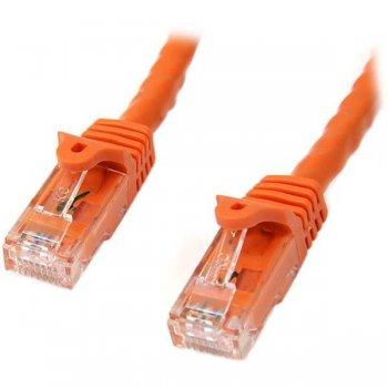 StarTech.com N6PATC10MOR cable de red 10 m Cat6 U UTP (UTP) Naranja