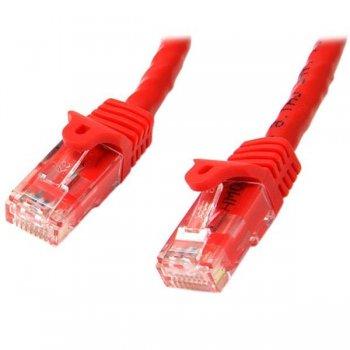 StarTech.com N6PATC10MRD cable de red 10 m Cat6 U UTP (UTP) Rojo