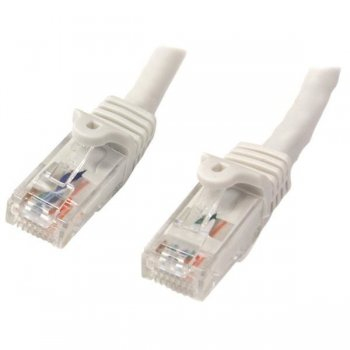 StarTech.com N6PATC10MWH cable de red 10 m Cat6 U UTP (UTP) Blanco