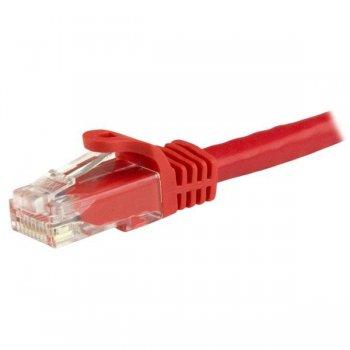 StarTech.com Cable de Red Ethernet Cat6 Snagless de 3m Rojo - Cable Patch RJ45 UTP