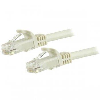 StarTech.com Cable de Red Ethernet Cat6 Snagless de 3m Blanco - Cable Patch RJ45 UTP