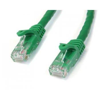 StarTech.com Cable de 0,5m Verde de Red Gigabit Cat6 Ethernet RJ45 sin Enganche - Snagless