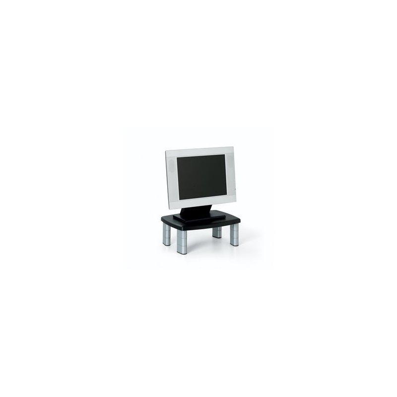 3M MS80B Carro para administración de tabletas Negro, Plata Panel plano