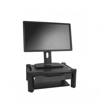StarTech.com Base de Soporte para Monitor - con Cajón y Altura Ajustable