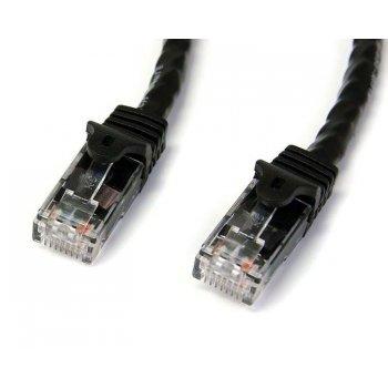StarTech.com Cable de Red Ethernet Snagless Sin Enganches Cat 6 Cat6 Gigabit 5m - Negro