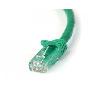 StarTech.com Cable de 5m Verde de Red Gigabit Cat6 Ethernet RJ45 sin Enganche - Snagless